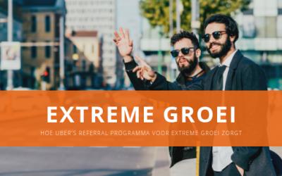 Hoe Uber's referral programma voor extreme groei zorgt