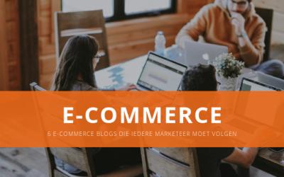 6 e-commerce blogs die iedere marketeer moet volgen